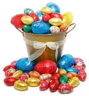 83 best easter gift ideas images on pinterest easter gift free bucket of eggs easter gift negle Choice Image