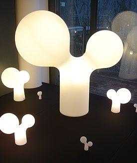 Eero Aarnio The Double Bubble lamp
