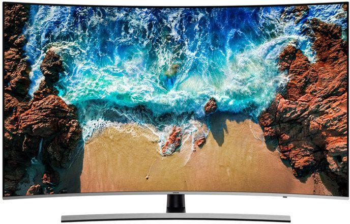 Samsung 55 Inch Premium UHD Curved Smart TV UA55NU8500KXZN