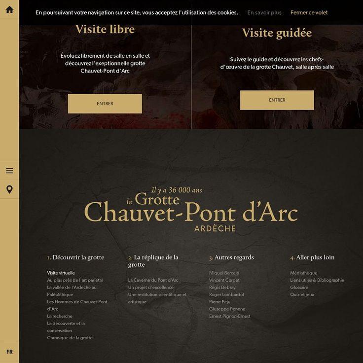 Visite virtuelle | La Grotte Chauvet-Pont d'Arc - Ardèche, France | Pearltrees