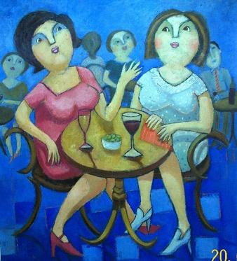 De la pintora chilena Bernardita Larrain.