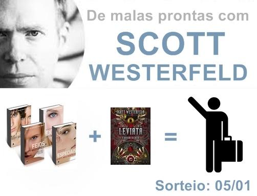 São os 4 livros da saga #Feios + leviatã #sorteio imperdível *_*