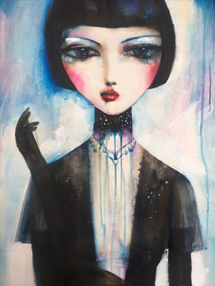 Girl in a Choker by Suzy Platt.