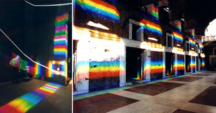 Artist Peter Erskine Transforms Interior Spaces with Laser-Cut Prism Installations