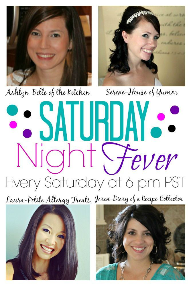 Hi everyone! Welcome back to another fabulous week here at Saturday Night Fever! This is the first week that Jaren, Serene, Laura, and myself are completely taking the reins of this amazing party, and we are SO glad you're here! Each Saturday night, stop by and link up your delicious recipes and be sure to [...]