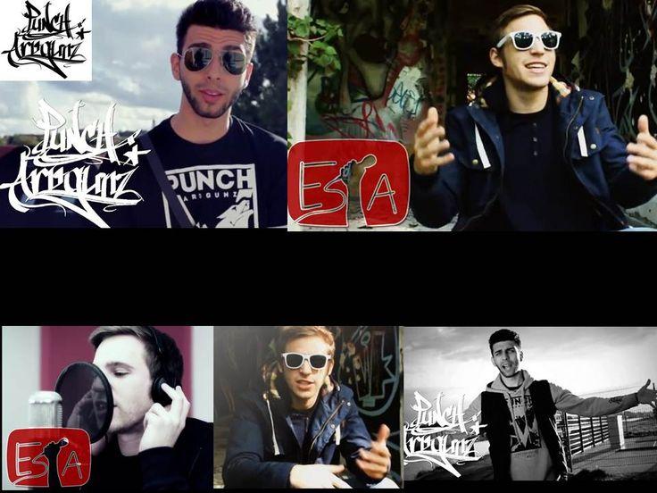Esta and Punch Arogunz - My favourite German Rappers