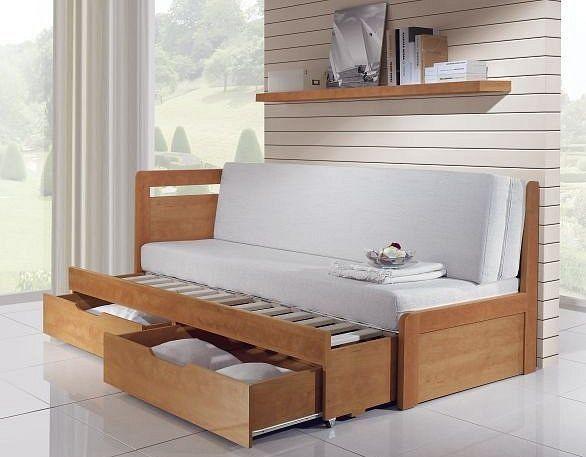 Rozkládací postel Marek - snadný rozklad