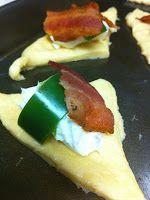 Bacon, Jalapeno, Cream Cheese Stuffed Crescent Rolls...Football Food