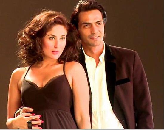 Kareena Kapoor and Arjun Rampal in Heroine
