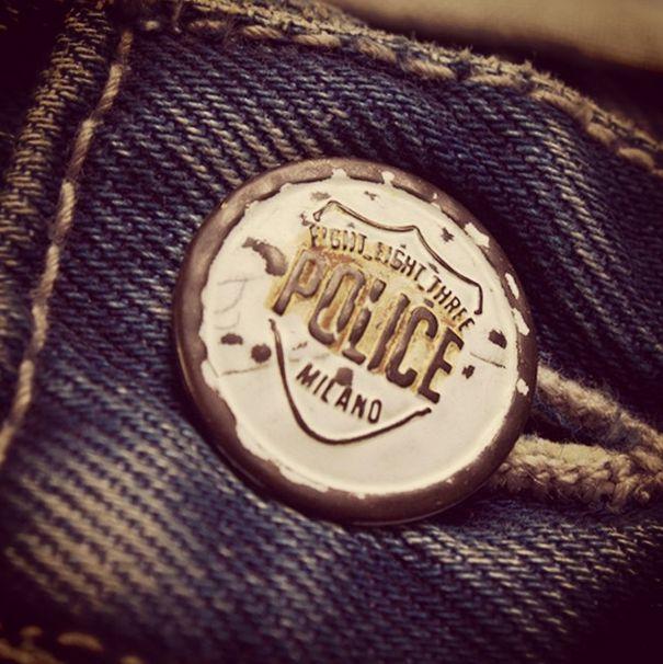 AW14 Denim Detail #883police #engineered #denim