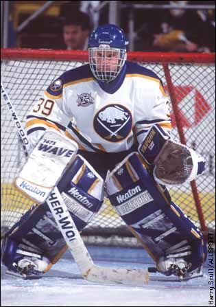 Dominik Hasek/The Dominator...My all time favorite!!!!!!!!!