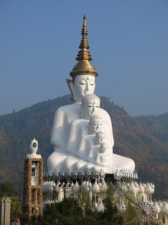 Wat Pha Sorn Kaew - A Buddhist Monastery located on Highway 12 between Phitsanulok and Lom Sak in Thailand