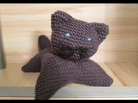 Chaton au tricot