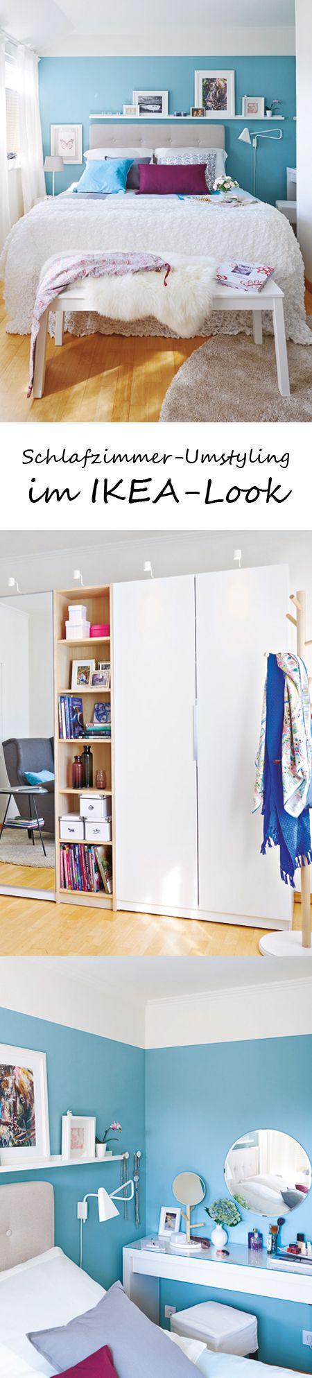schlafzimmer umstylingt mit wohnidee und ikea ikea. Black Bedroom Furniture Sets. Home Design Ideas