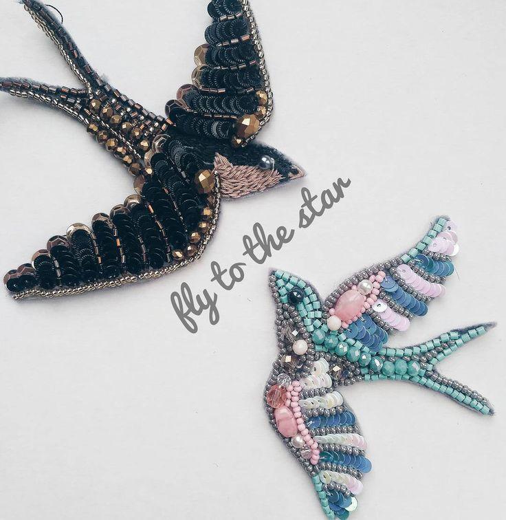 На финише не останавливаются... Летите, птички, вслед за мечтой. Мечты ведут нас к звездам... ... #la_chica_творческий_процесс ...