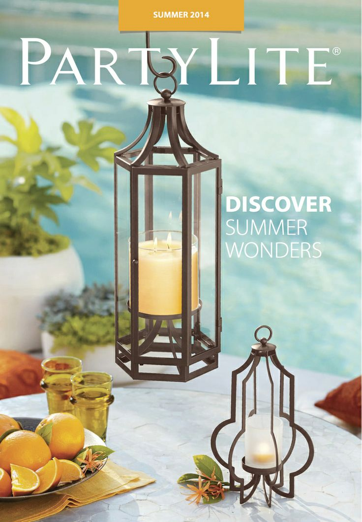 The PartyLite summer catalogue is here!