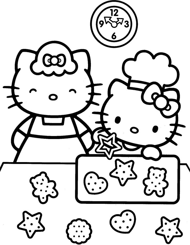 Hello Kitty Head Coloring Pages : Best coloring pages hello kitty images on pinterest