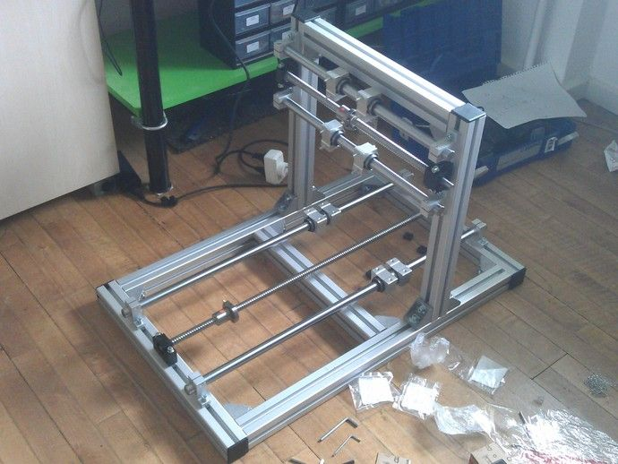 CNC Router Aluminium by nic6911 - Thingiverse