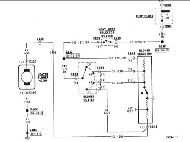 89 Jeep Wrangler Ignition Switch Wiring Diagram