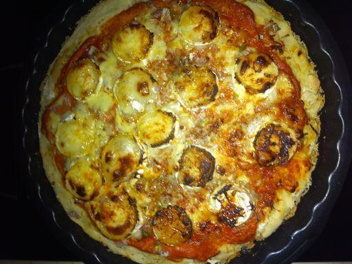 Pâte à pizza fine - Recette de cuisine Marmiton : une recette