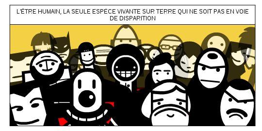 Pas en voie de dispartion  #fr   #french   #surpopulation    http://frederic.baylot.org/post/291014-surpopulation