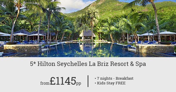 A 5-star stay in Seychelles is hard to find at this price. Book Hilton Seychelles La Briz Resort