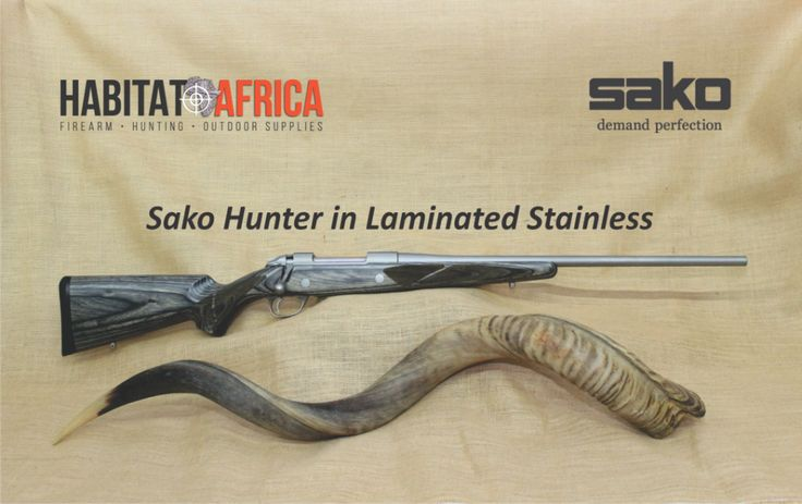 """Calling the Sako 85 Hunter in Stainless Steel """"standard"""" is a serious understatement. With its attractive, yet ultra-tough high grade laminated stock and weather resistant stainless steel barrel, action and metal parts, it provides a stable platform to hold up in the toughest conditions, making it a valued rifle to [...]"""