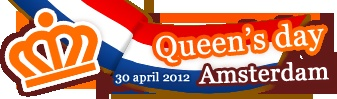 "Today is Queensday in Holland. We celebrate her birthday. Big party all over the country, all in colours of our flag, red white and blue, but mostly orange, since our royal family is named ""Van Oranje"" which means 'Orange'.  Google pictures 'Koninginnedag' so you can see for yourself!"