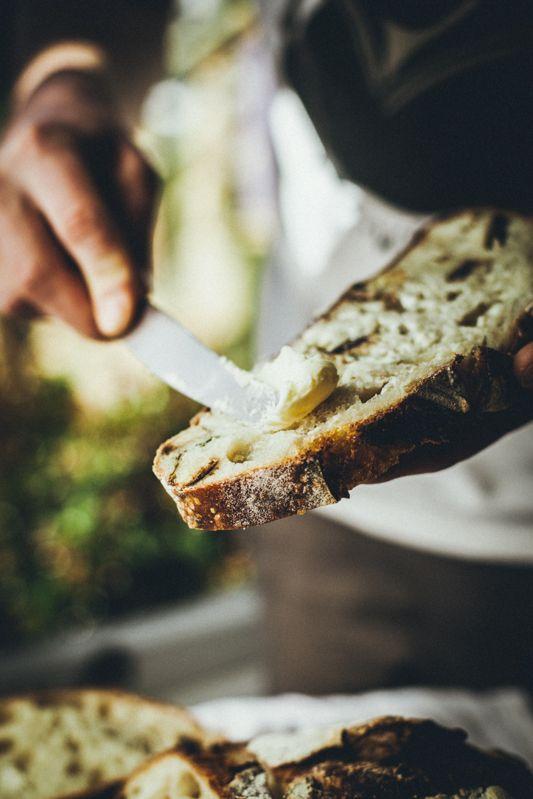 Chleb z rozmarynem i ziemniakami