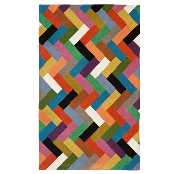 A Colourful Parquet Floor For The Home Pinterest