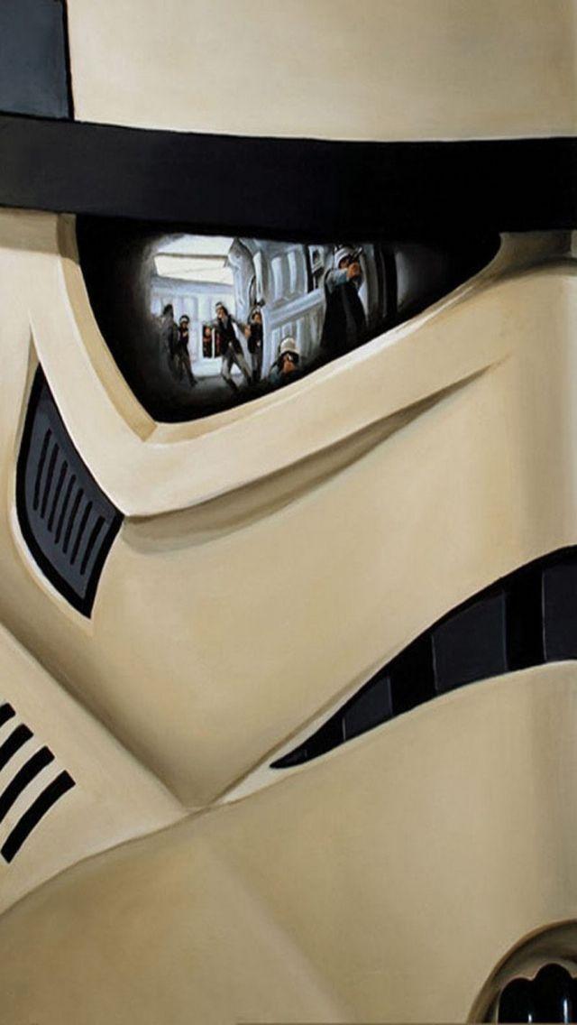 Star Wars Stromtrooper IPhone 5 wallpaper