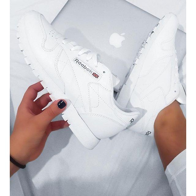 White Rebook Sneakers