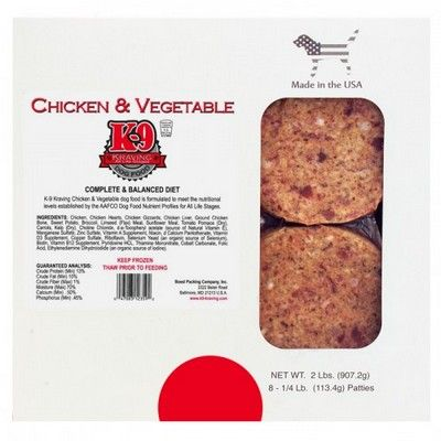 October 2 2015 k 9 kraving dog food of baltimore for Costco raw dog food