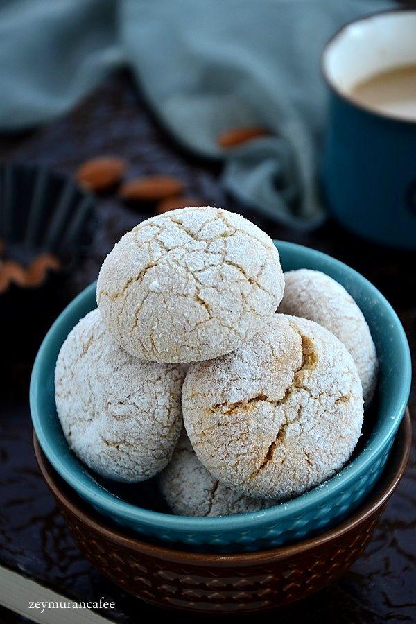 bademli çatlak kurabiye tarifi