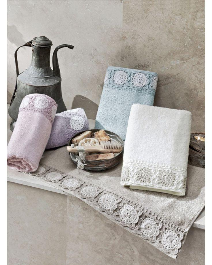 Ręcznik Premium ELIZA Krem