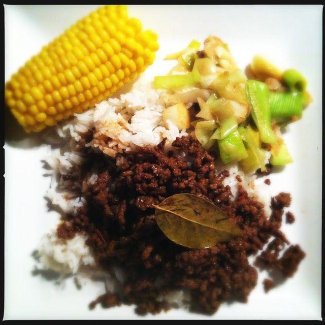 Basisrecept voor Surinaams gehakt - Francesca Kookt