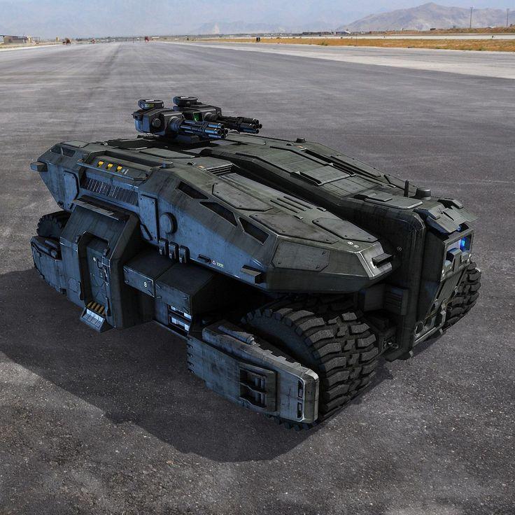 этот фото военной техники будущего правом левом