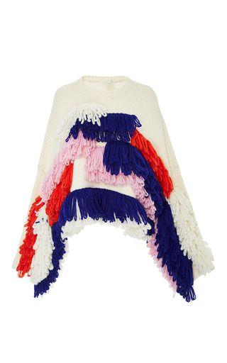 Fringe Alpaca Pullover by DELPOZO for Preorder on Moda Operandi