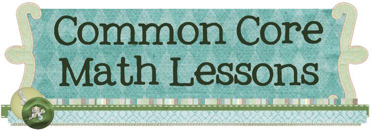 Kindergarten Common Core Math Lessons
