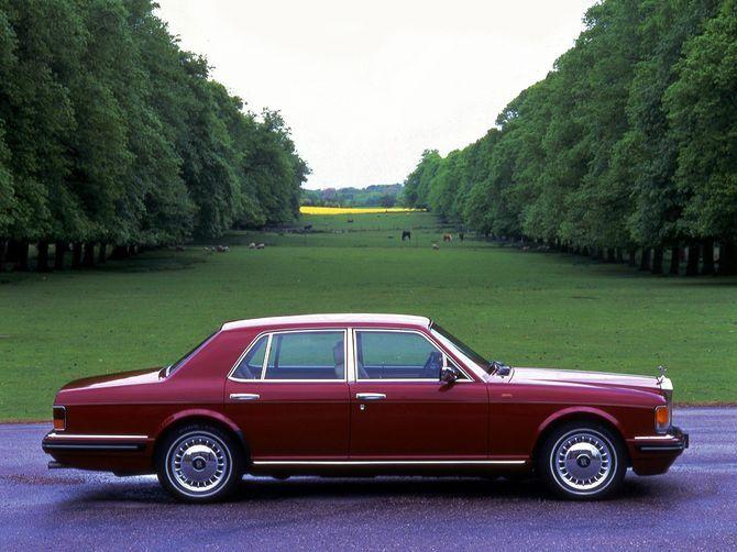 1996 Rolls-Royce Mk.IV Silver Spirit