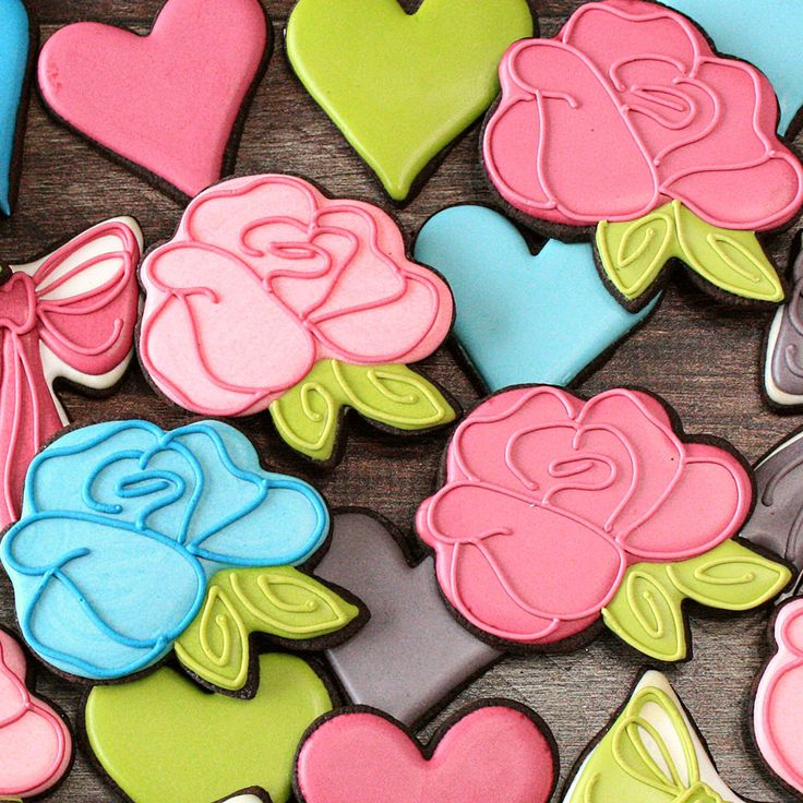 LilaLoa Rose Cookie Cutter by Ann Clark Cookie Cutters