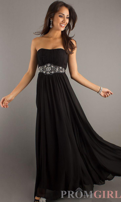 Klassisches langes trägerloses Kleid #klassisches #kleid #langes