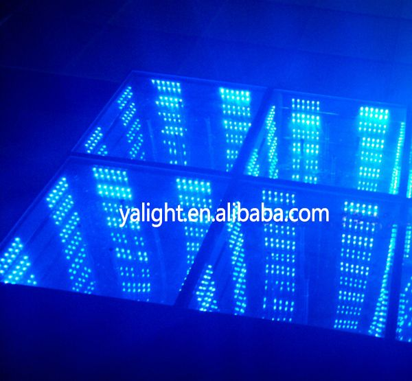 2015 newest Twinkling Dance Floor led dancing floor dj light
