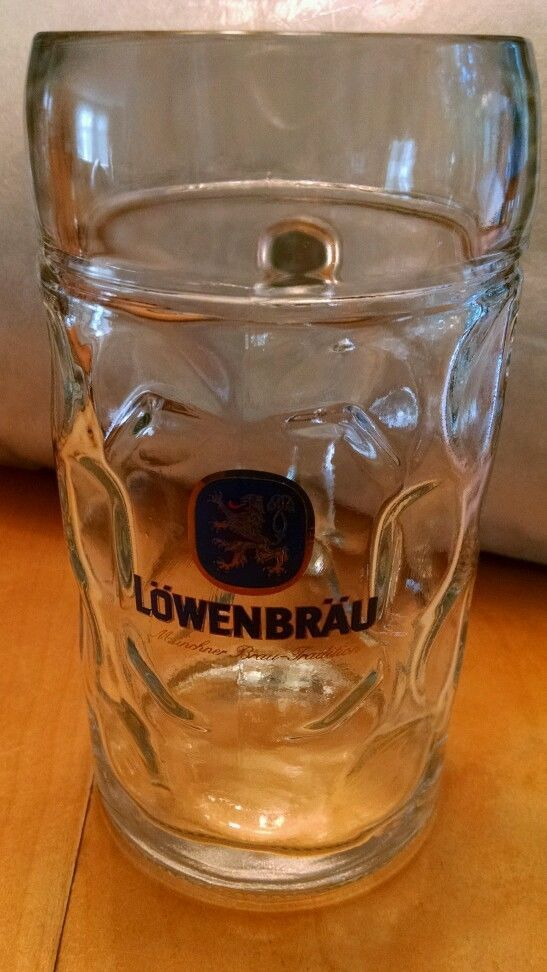 Lowenbrau Beer Glass Dimple Beer 40 oz Old Collectible Made in Austria in Collectibles, Breweriana, Beer, Drinkware, Steins   eBay
