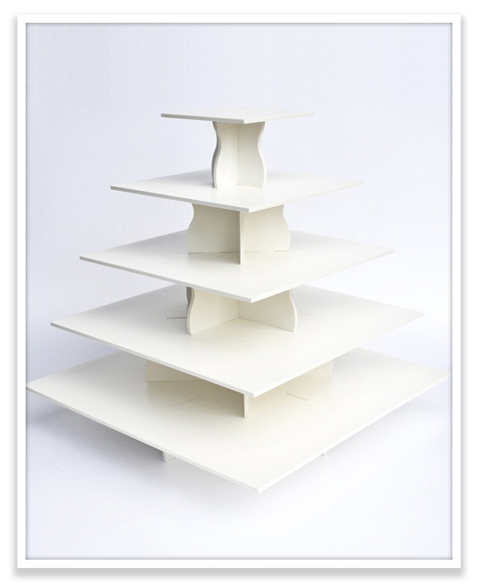 Best Square Cupcake Tower