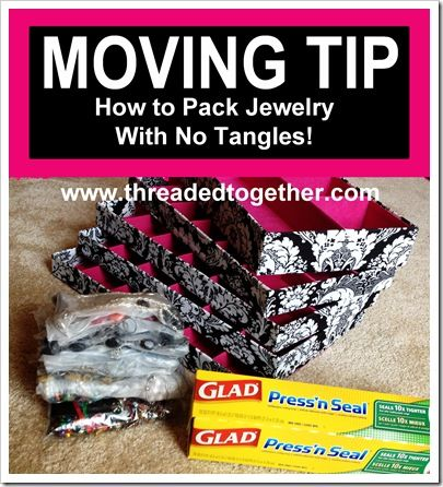 Moving tip packing jewelry in press 39 n seal wrap no for How to pack jewelry for moving
