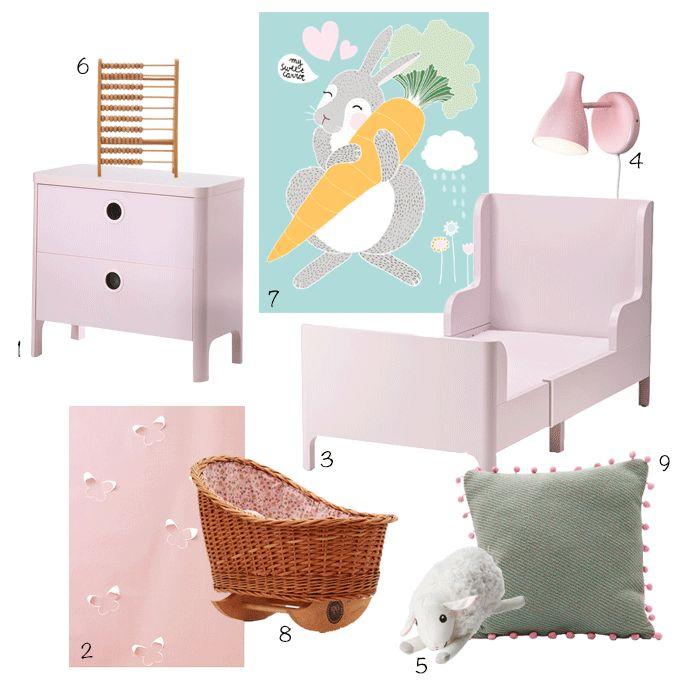 Ikea combi-creatie Kinderkamer. Hierin zoeken we de toppertjes uit het assortiment van de Zweedse gigant en combineren we ze stijlvol met producten van #wonenvoorjou Met een bijzondere, maar betaalbare meisjeskamer als resultaat | Blog