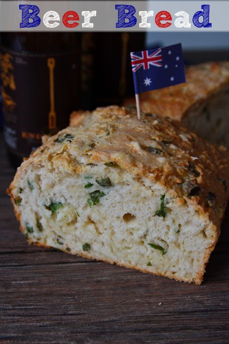 Cheese and Onion Beer Bread *