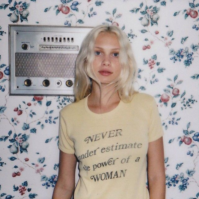 """""""Never underestimate the power of a woman"""""""