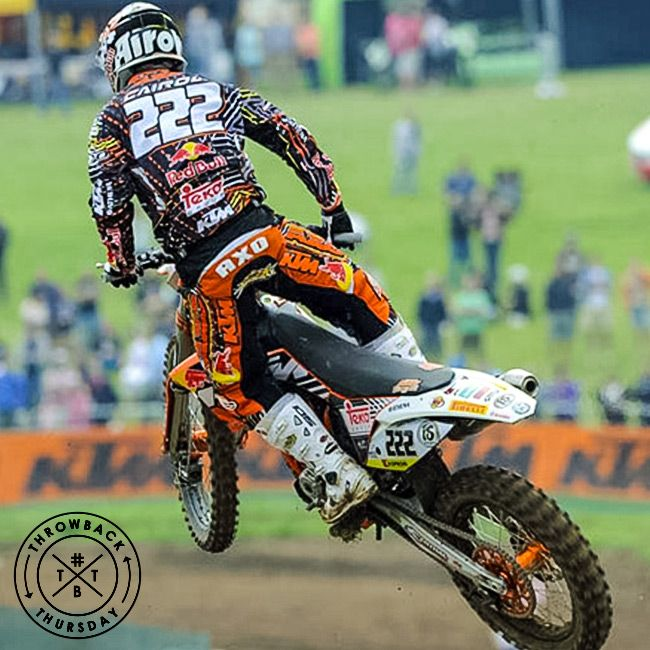 Antonio Cairoli in Great Britain for the 2011 MXGP! #axoracing #throwbackthursday #tbt #mxgp #tc222